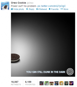 Oreo's Dunk In The Dark